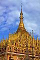 Golden pagoda at the centre of Thanboddhay Paya (5089809441).jpg