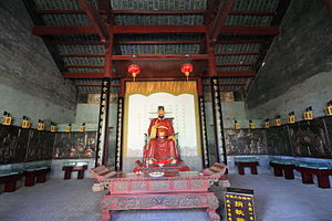 Guangxi - Shrine of Zhou Wei in Gongcheng.