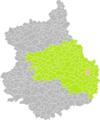 Gouillons (Eure-et-Loir) dans son Arrondissement.png