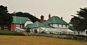 Government House, Falkland Islands - Government House in Stanley