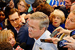 Governor of Florida Jeb Bush, Announcement Tour and Town Hall, Adams Opera House, Derry, New Hampshire by Michael Vadon II 07.jpg