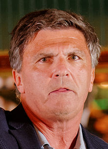 Governor of Maryland Bob Ehrlich at Belknap County Republican LINCOLN DAY FIRST-IN-THE-NATION PRESIDENTIAL SUNSET DINNER CRUISE, Weirs Beach, New Hampshire May 2015 by Michael Vadon 10 (cropped).jpg