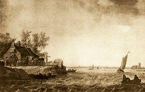 Goyen 1633 pohled na dordrecht.jpg