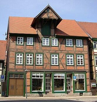 Grabow - Image: Grabow Zwerchhaus