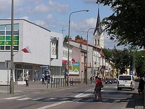 Grajewo - ul. Piłsudskiego in Grajewo