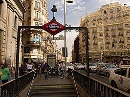 Gran Vía (Madrid Metro)