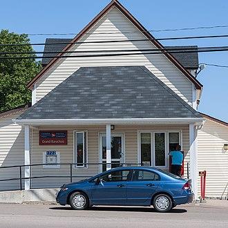 Beaubassin East, New Brunswick - Beaubassin East (Grand Barachois) post office