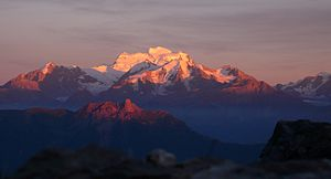 Grand Combin - View from the north