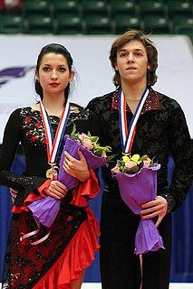 Ksenia Monko Russian ice dancer