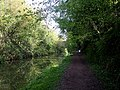 Grand Union Canal approaching Marshcroft Lane Bridge - geograph.org.uk - 1274302.jpg