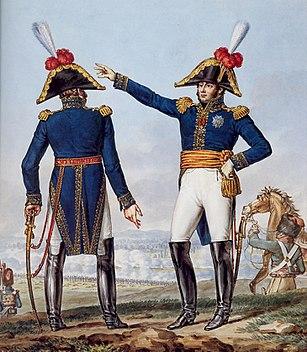 Grande Armée - Generals of Division - Undress Uniform