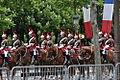 Grande escorte mixte de la Garde républicaine le 8 mai 2015 à Paris 1.JPG