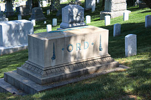 Edward Ord - Grave of Edward Ord in Arlington National Cemetery.