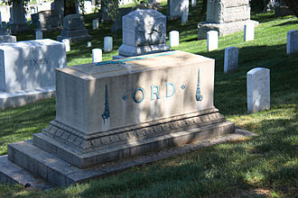 Edward Ord - Grave of Edward Ord in Arlington National Cemetery