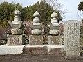 Grave of Nabeshima Shigemochi in Kōden-ji.JPG