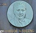 Grave of Wilhelm Karczag - medaillon Wilhelm Karczag.jpg