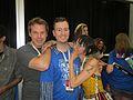 Gray Haddock and Jen Brown at RTX 2014 (14434154108).jpg