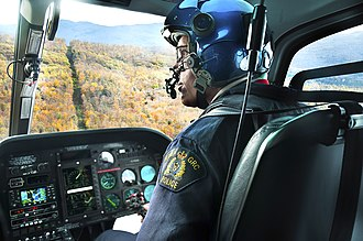 Law enforcement in Canada - A helicopter pilot with the RCMP Air Services Branch
