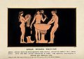 Greek women washing. Gouache painting. Wellcome V0020004.jpg