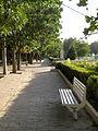 Green space - tree - sidewalk - omar khayyam planetarium - Nishapur 11.JPG