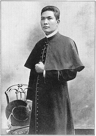Philippine Independent Church - Gregorio Aglipay in his youth before excommunication.
