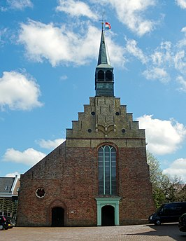 Grote of Sint-Martinuskerk in Dokkum.