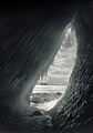 Grotto in an iceberg, Herbert George Ponting, original.jpg