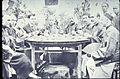 Group of Chinese and missionary men at a feast, Changde, Hunan, China, ca.1902 (IMP-YDS-RG008-358-0008-0007).jpg