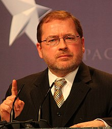 Grover Norquist at Conservative Political Action Conference in February 2010.