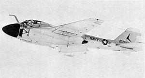 Grumman A-6C TRIM prototype in flight 1968.JPG