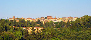 Guardistallo - Panorama of Guardistallo
