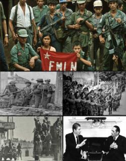 Salvadoran Civil War 1979-1992 war between the government and revolutionaries in El Salvador
