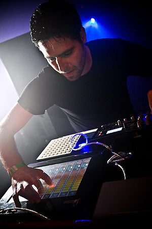 Gui Boratto - Boratto performing at MUTEK