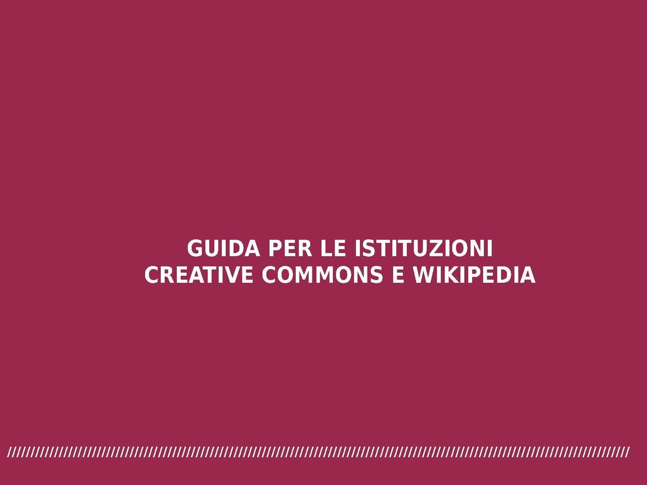 File:Guida per le istituzioni - Creative Commons e ...