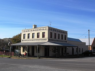 Guildford, Victoria - The Guildford Family Hotel dates back to the 1850s