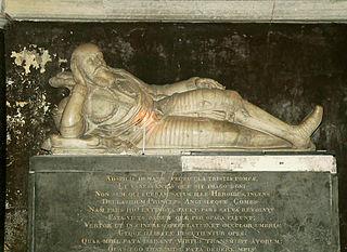 monument funéraire de Guillaume Douglas, prince d'Écosse