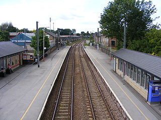 Guiseley railway station Railway station in West Yorkshire, England