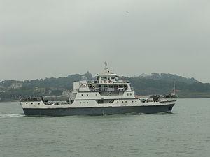 Gulangyu - Yuanhe ferry - DSCF9334.JPG