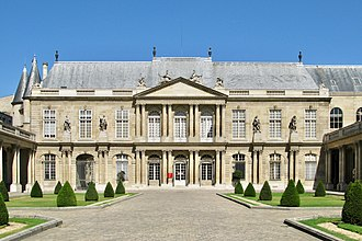 Archives Nationales (France) - Façade of the Hôtel de Soubise, the historical and original headquarters of the Archives Nationales