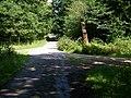 Hředelská cesta, Rozcestí v polesí Jestřáb.jpg