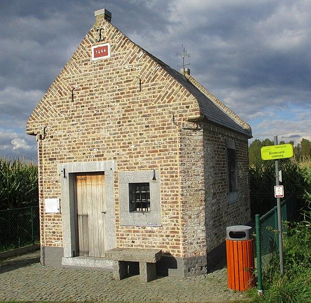 Kapel uit 17e eeuw in Geetbets voor H.Anna, ook Piskapel genoemd wegens bedevaart tegen bedwateren