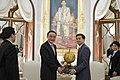 H.E. Mr. Wu Bangguo ประธานสภาประชาชนแห่งชาติจีนและคณะเ - Flickr - Abhisit Vejjajiva.jpg