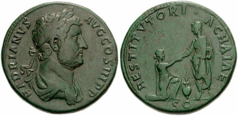 HADRIANUS RIC II 938-789065