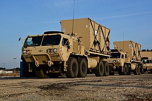 Heavy Expanded Mobility Tactical Truck - HEMTT M1120A4 in A-kit configuration - without cab armor, the B-kit