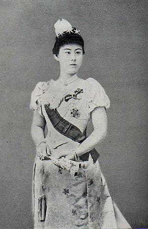 Prince Kitashirakawa Yoshihisa - Image: HIH Kitashirakawa Tomiko