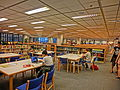 HKUST 香港科技大學 Library 圖書館 interior furniture n Bookcases visitors Sept-2013.JPG