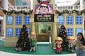 HK 奧海城 Olympian City 2 mall void courtyard Dec-2017 IX1 櫻桃小元子 Chibi Maruko-Chan School building.jpg
