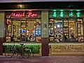 HK CWB night 加寧街 Cleveland Street restaurant March Box Mar-2013.JPG