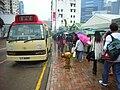 HK Kwun Tong 協和街小販市場 Hip Wo Street Hawker Bazaar Minibus 2 Castle Peak Road.JPG