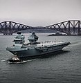 HMS Prince of Wales (R09) depart Forth for initial sea trials - 12.jpg